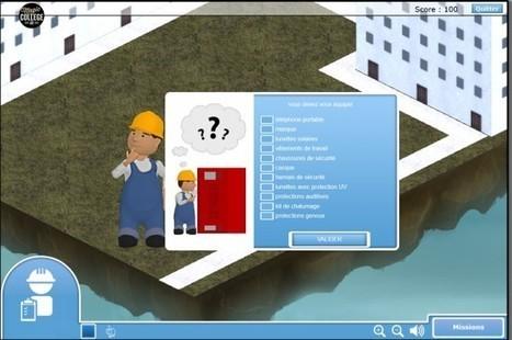 Magic College 2 : un «serious game» pour promouvoir les métiers du Bâtiment auprès des collégiens - Emploi / Formation | Ressources pour la Technologie au College | Scoop.it