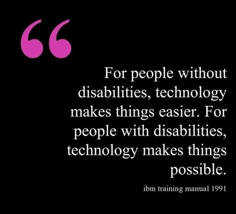 Glenda's Assistive Technology Information and more...: AT for the LD Population (including iDevice Information) | Assistive Technology & Educational Apps | Scoop.it