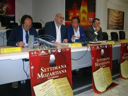 Chieti, tutto pronto per la Settimana Mozartiana - PrimaDaNoi.it | chietitempolibero | Scoop.it