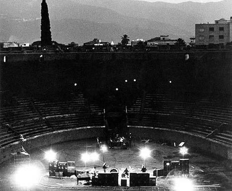 Panoram Italia - Blog - Revisiting Pink Floyd Live at Pompeii (1972) | Italian Entertainment And More | Scoop.it