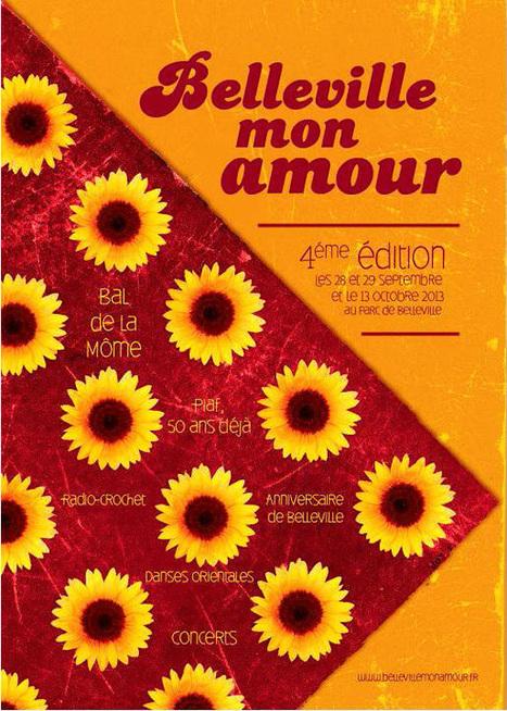"""""""Belleville mon amour"""", célébration de quartier   Paris Est Villages   Oksana555   Scoop.it"""