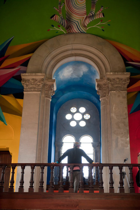 Old Church Becomes a Skateboarder's Heaven - Design Milk | Interior Design - Interiorisme | Scoop.it
