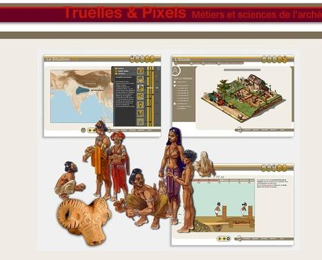 Truelles & Pixels : les métiers de l'archéologie | Net-plus-ultra | Scoop.it
