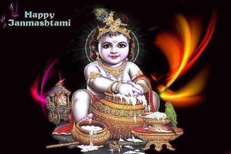 Happy Janmashtami Wishes SMS   Hindi SMS Shayari   Scoop.it