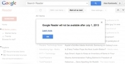 Google Reader shutting down on 1 July 2013 | Influenced | Scoop.it