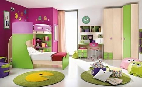 Happy and Bright Children Room Design Ideas | Real Estate | Scoop.it