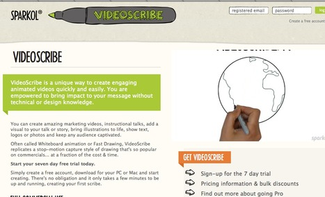 Sparkol: VideoScribe - Whiteboard Drawing Animation made easy | Web 2.0 for Teachers | Scoop.it