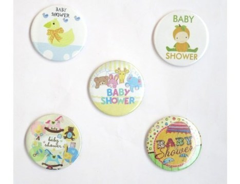 Baby Shower Pin Badges ( Pack of 5) | DholDhamaka | Scoop.it