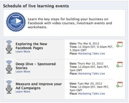 Facebook launches 'marketing classroom' for businesses | Facebook Daily | Scoop.it