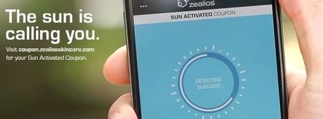 Un coupon de réduction digital qui ne fonctionne qu' au soleil | CA Com | affiliation | Scoop.it