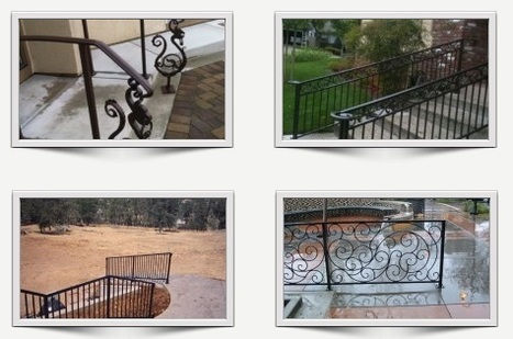 Modern and Unique Iron Railing Designs | Ornamental Iron | Wrought iron fencing | Driveway gate | Scoop.it