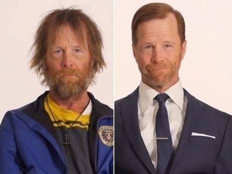 Homeless Veteran's Makeover Goes Viral: VIDEO - NPR (blog)   helping the homeless   Scoop.it