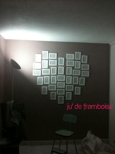 Ju2Framboise : TuTo : Un coeur de cadres DIY | Créations, Idées, DIY | Scoop.it