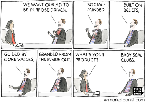 """Purpose-driven"" advertising 