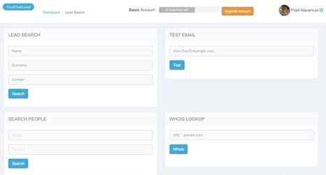 FindThatLead. Trouver l'adresse mail d'un contact | Les outils de la veille | DIGITAL NEWS & co | Scoop.it