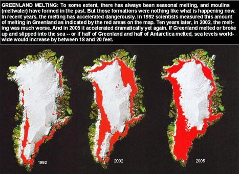Satellites See Unprecedented Greenland Ice Sheet Surface Melt | Remote Sensing News | Scoop.it