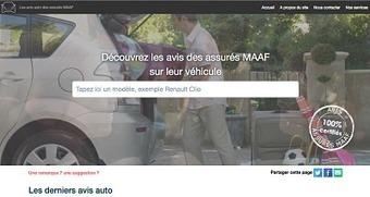 La MAAF lance un site d'avis des assurés sur leur véhicule | Mobilité (Assurance-Assistance) | Scoop.it