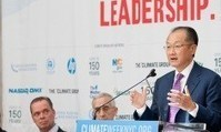 """Jim Yong Kim on climate change at Davos: """"Now is the time to act for future generations before it's too late"""" 