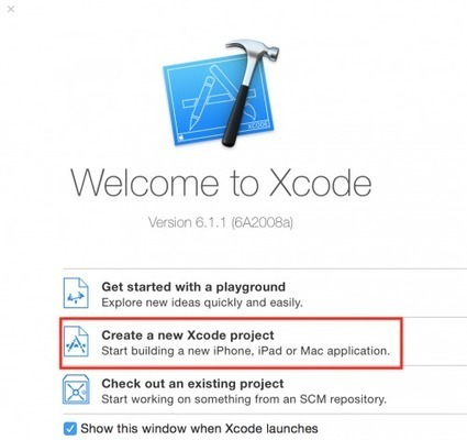 Tutorial : Create First Xcode 6.0 Project iOS 8 | Code Germs | Xcode Objective c programing iphone | Scoop.it