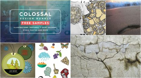 Freebie | Colossal Design Bundle Samples | Design Freebies & Deals | Scoop.it