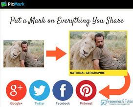 PicMark : un service en ligne pour marquer vos images avant de les partager | Pinterest Web | Scoop.it