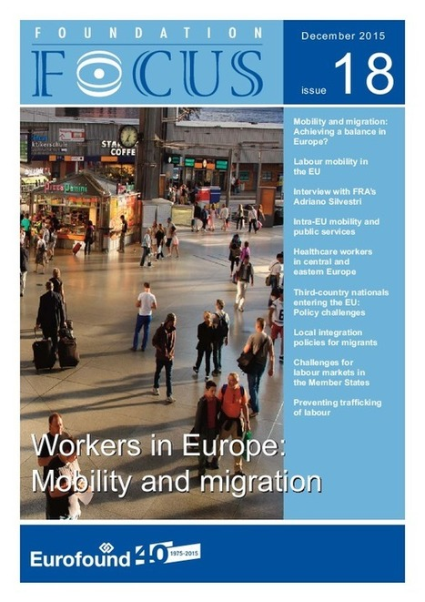 Workers in Europe: Mobility and migration | Emploi et formation selon l'UE | Scoop.it