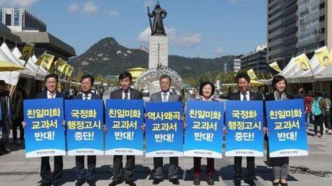 South Korea to control history textbooks used in schools - BBC News   Peer2Politics   Scoop.it