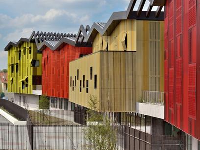 Architettura, paesaggio e colore: Jean Lurcat Collège di Mikou Design   Architecture & Gardens   Scoop.it