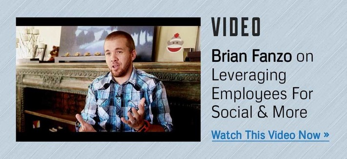 Brian Fanzo On Leveraging Employees For Social & More (Video) | Digital Social Media Marketing | Scoop.it