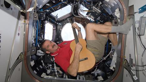 Astronaut And Rocker Pen First Earth-Space Duet : NPR | tunes | Scoop.it