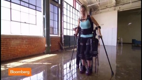 Wearable Robot: How the Ekso Bionic Suit Works - Bloomberg | Exoskeleton Systems | Scoop.it