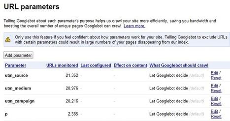 Google Adds URL Parameter Options to Google Webmaster Tools   Comunicazione e Informatica   Scoop.it