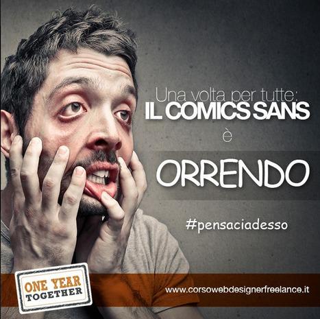 IL COMICS SANS è orrendo | SEO PALERMO | Scoop.it