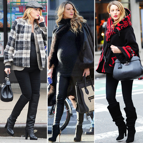 This Is the Shortcut to Achieving Flawless Maternity Style Like BlakeLively | Maternity Fashion Magazine - Glamorous Mom's Are Here | Scoop.it