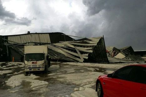 Sydney hit by severe hail storm, five warehouses collapse | Creating designs 'fit' for people! | Scoop.it
