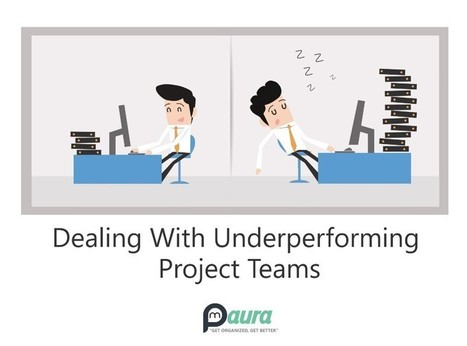 Is Your Team Underperforming ? Follow The Quick Steps To Get It Back On Track! | Project Management software | Scoop.it