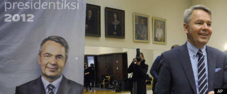 Pekka Haavisto, Finnish Gay Presidential Candidate, To Face Off With Former Finance Minister In Race   Finland   Scoop.it