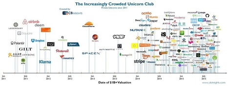 The Increasingly Crowded Unicorn Club In One Infographic | Smart devices and technology solutions | Scoop.it