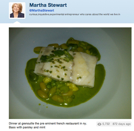 Someone Needs to Tell Martha Stewart Her Food Tweets Are Disgusting | What People Are Talking About Online | Scoop.it