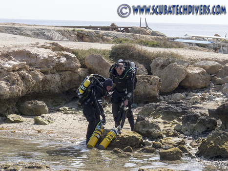 Diving Review for the Megalodon Rebreather and Scuba Tech, Cyprus | Scuba Diving in Cyprus | Scoop.it