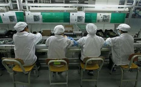 Foxconn, fournisseur d'Apple, reconnaît des infractions au droit du travail en Chine | Mon étude APPLE | Scoop.it