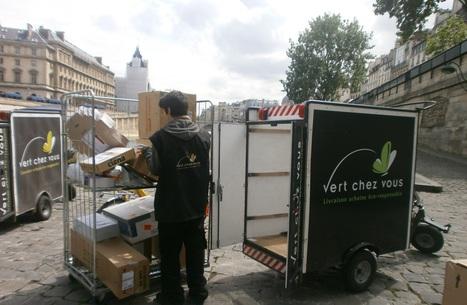 Les colis Verts sont entrés dans Paris | Finance | Scoop.it