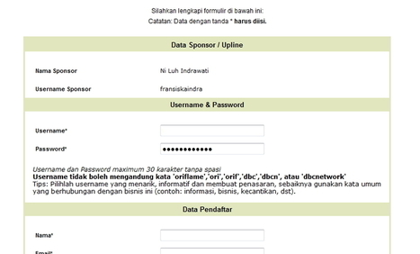 Cara Gabung Oriflame dBC Network Secara Online | Peluang Bisnis Rumahan | Peluang Bisnis Oriflame | Scoop.it
