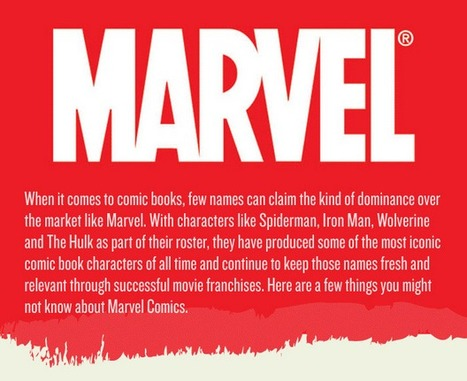 Marvel Infographic ★ Daily Infographic | infographies | Scoop.it