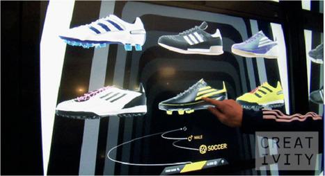 Intel: Adidas Virtual Shoe Wall   Advancements in Light, AR Tech (Advertising, Media)   Scoop.it