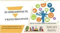 TIC y REA: 50 herramientas TIC y blogs educativos. | Contenidos educativos digitales | Scoop.it