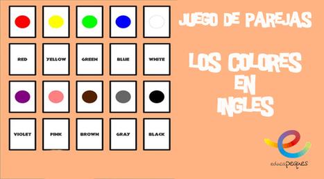 Colores en inglés. Juego de memoria | Recull diari | Scoop.it