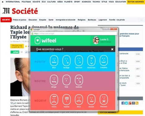 Wifeel, l'application sociale qui donne un autre relief à vos émotions | Bonheur digital - Bonheur 2.0 | Scoop.it