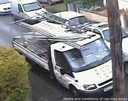 Police appeal for help in tracing rogue trader van