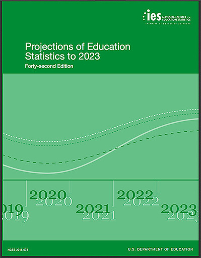 Projections of Education Statistics to 2023 [nces.ed.gov] | Organización y Futuro | Scoop.it
